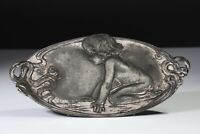 EXQUISITE EARLY 1900's JUGENDSTIL-ART NOUVEAU CARD TRAY/WALL PLAQUE-WMF