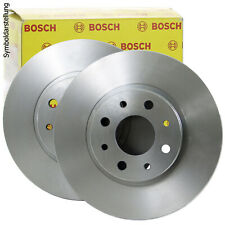 2x Bosch disco de freno conjunto de los discos de freno trasera frenos 0 986 479 382