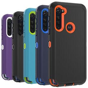 For Motorola Moto G Power/G Stylus Case Heavy Duty Shockproof Rugged Hard Cover
