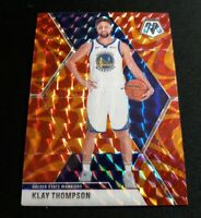 C41 KLAY THOMPSON 2019-20 PANINI MOSAIC BASKETBALL REACTIVE ORANGE PRIZM #80
