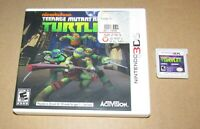 Teenage Mutant Ninja Turtles for Nintendo 3DS Fast Shipping