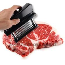 Pro Meat Tenderizer 48 Blade Stainless Steel Needle Prongs Kitchen Tool Useful
