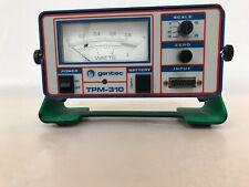 GENTEC DIGITAL LASER POWER METER TPM-310 0-IV