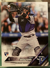 2016 Topps Baseball Tony Wolters #US249 Colorado Rockies RC