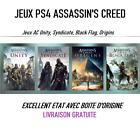 Jeux ps4 assassin's creed Syndicate, Black Flag, Unity, Origins