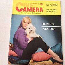Cine Camera 8mm Magazine Kodak Brownie A15 December 1961 061517nonrh