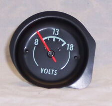 1968 - 1971 Corvette Volt Gauge . Replaces factory Amp Gauge with Voltage Gauge