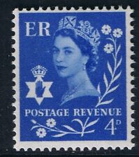 GB QEII Northern Ireland SG NI2p 4d Ultramarine 2B Regional Wilding Definitive