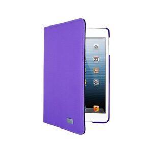 "Lifeworks Turncoat 7-8"" Folio Tablet Case 360° Swivel & Stylus Loop Purple/Gray"
