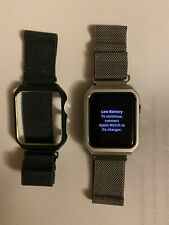 mm- Green And Silver Bands. Apple watch Bands For 38