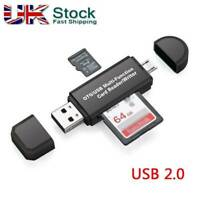 USB 2.0  Multi-function Memory SD Card Reader Micro SD TF OTG Card Converter