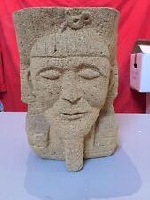 STATUA BUSTO Tutankhamon  DI TUFO  altezza 30 CM