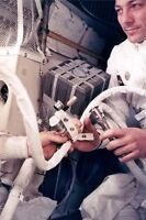 "New 5x7 Photo: Astronaut John Swigert Repairs ""Mailbox"" during Apollo 13 Mission"