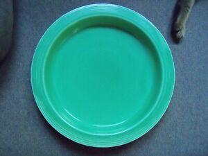 Homer Laughlin Pre 1946 Fiesta Dinnerware Green Relish Tray Base - Damage