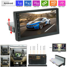 "7"" Car Radio 1 DIN Android 9.1 GPS Stereo Navi MP5 Player WiFi Quad Core Mirror"
