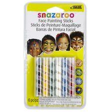 Snazaroo Face Painting Sticks | 6-Color Unisex Rainbow Set
