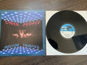 "Cyber People  12"" Vinyl   DOCTOR FAUSTUS  ©  1986"