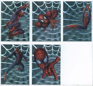 SPIDER MAN THE MOVIE SPIDEY HOLOGRAM OR WEBTECH CARDS    CHOOSE SET OR SINGLES