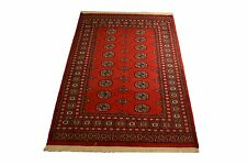 "Crafters&Weavers Oriental rug Pakistan bokhara rug size 4' 0""  x 5'10""  # 2617"