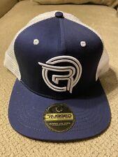 New Rugged Lacrosse Blue White Hat Cap SnapBack $30