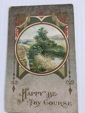 Vintage post card Farm Correspondence, local Elizabethtown Indiana
