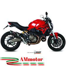Mivv Ducati Monster 821 2016 16 Terminale Di Scarico Marmitta Suono Black Moto