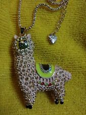 Betsey johnson Peach n Gold Alpaca  necklace