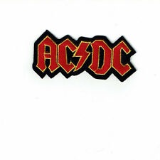 """3 1/2"""" AC DC  Iron on Embriodered Patch Rock N Roll Free Shipping"""