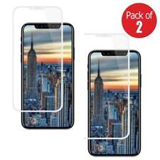 2x Premium Full Body Tempered Glass 3D Curved Screen Protector for iPhone X