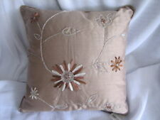 Gorgeous Nettex PALAIS Mushroom Ribbon Beaded Floral Cushion Cover SALE SALE