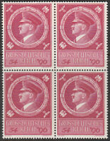 SALE Stamp Germany Mi 887 Sc B271 Block 1944 WWII 3rd Reich Hitler Birthday MNH