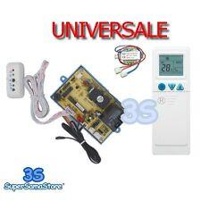 3S SCHEDA UNIVERSALE + TELECOMANDO PER CONDIZIONATORE ON-OFF PG A 6 FILI CLIMA