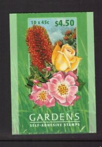 Australia 2000 Booklet Flowers and Gardens set mint stamps