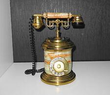 Vintage Old German Phone Marble / Stone