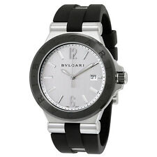 Bvlgari Diagono Silvered Dial Automatic Mens Watch 102252