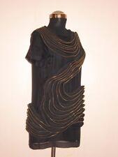 3.1 Phillip Lim Zipper Ruffle black dress Size 4