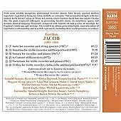 Jacob: Chamber Music With Recorder, Rebecca Austen-Brown,Sarah Humph, Audio CD,