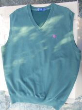Ralph Lauren Polo Golf Sweater Vest XL Green Excellent Condition