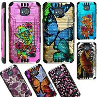 SILVER GUARD For ZTE Tempo N9131/ Majesty Pro Phone Case Brushed Hybrid Cover B2