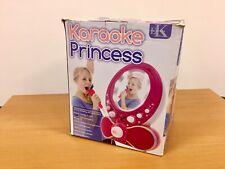 Easy Karaoke - Princess Karaoke Machine  - Pink