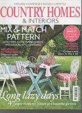 COUNTRY HOMES & INTERIORS MAGAZINE September 2009 Mix and Match Pattern AL