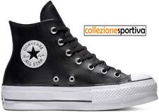converse all star platform nere