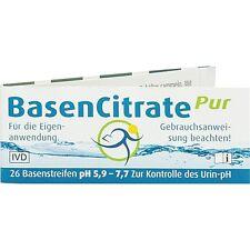 BASEN CITRATE Pur Teststr.pH 5,9-7,7   26 st   PZN2067497