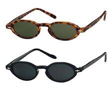 Sunglasses Oval Small Men's Woman Retro Vintage Cat. 3 SUNOPTIC 1066