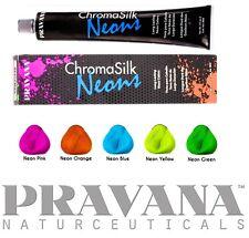 2 X Haartönung Pravana Chroma Silk Neons 90ml Tube 5 Zur Auswahl Haarfarbe