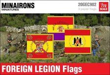 Minairons 1:72 Spanish Foreign Legion flags - 20mm Spanish Civil War