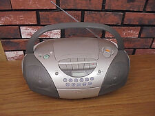 SONY CFD-S300 MEGABASS CD PLAYER/AM-FM RADIO/CASSETTE PLAYER BOOMBOX  - TESTED