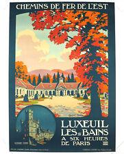 LUXEUIL LES-BAINS, Original Travel Poster, Constant Duval, ca.1920