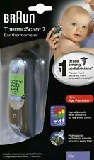 Braun ThermoScan 7 Digital In Ear Thermometer-Black IRT6520 New Sealed