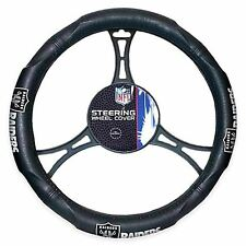 Oakland Raiders NFL Licensed Steering Wheel Cover